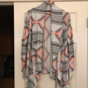 Sweaters - Cardigan. Sweatshirt material. Size M.